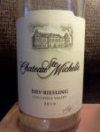 2010 Chateau Ste Michelle Dry Riesling